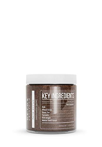 Detox Skinfood Face Scrub | Exfoliating Face Wash Improves Skin Texture, Unclogs Pores, Prevent Blackheads and Ingrown Hairs | Vegan Facail Scrub