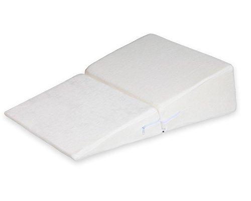 ANG QI plegable almohada de cuña de cama de espuma con funda lavable...