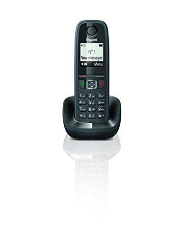 Gigaset AS405 - Teléfono Inalámbrico, Manos Libres, 100 Contactos, Pantalla gráfica iluminada...