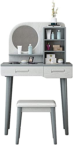 YUNLILI Tocador de Madera Maciza Tocador Minimalista Moderno Gabinete de Almacenamiento de apartamento pequeño