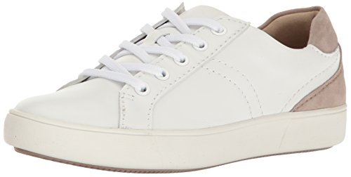 Naturalizer Women's Morrison Sneaker, White, 8.5 Narrow