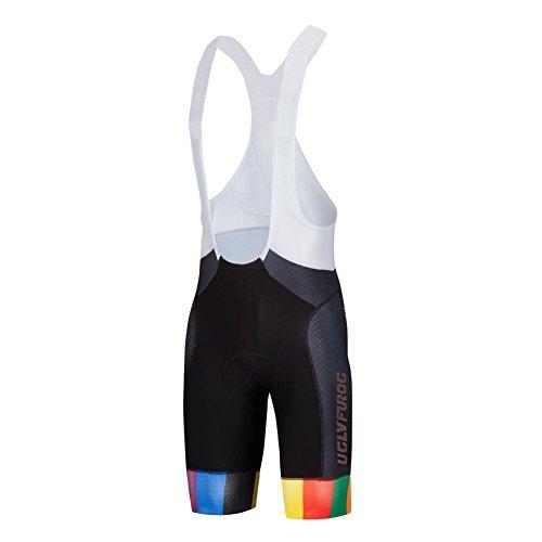 Uglyfrog Ciclismo Hombres Bib Pantalones Cortos Ropa Interior de Bicicleta con 3D Gel Acolchado MTB Ciclismo for Summer
