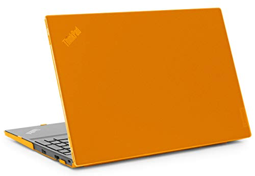 mCover Hard Shell Case for 2020 Lenovo ThinkPad E14 14-inch AMD Gen 2 Laptop Computers ( NOT Fitting Other Lenovo laptops ) - LEN-TP-E14-G2 Orange