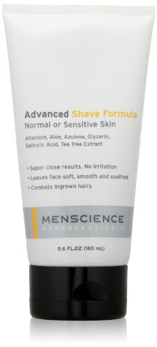 MenScience Androceuticals Advanced Shave Formula, 5.6 Fl Oz