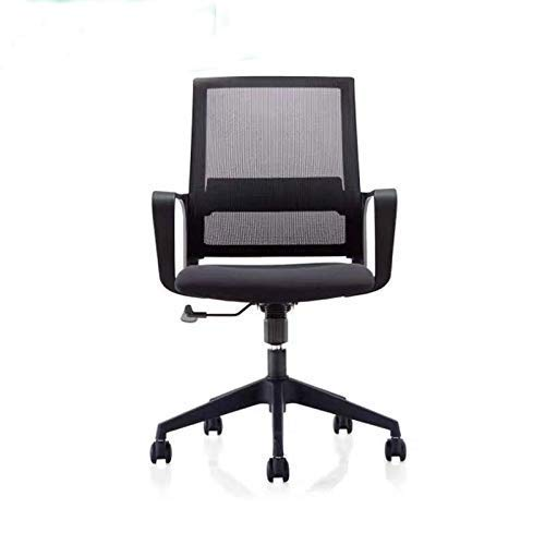 ZXL Office Fabric Operator Chairs 360 Degrees Office Mesh Back Swivel Desk Chair with Torsion Control