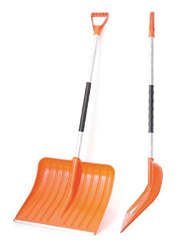 Schneeschaufel WINTERHAWK Blattbreite: 50cm Schneeräumer Schneeschieber Schaufeln Kunststoffblatt Aluminiumstiel