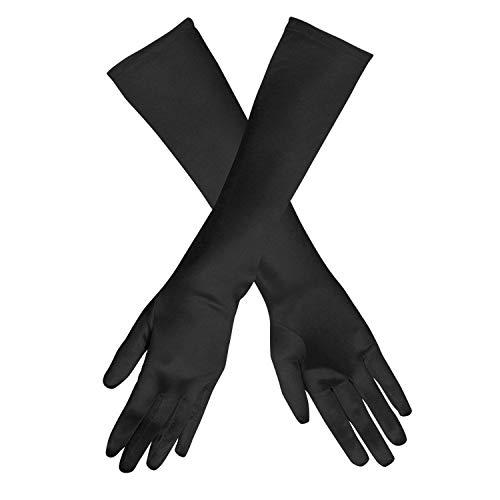 Boland 03006 - Handschuhe Monte Carlo, Einheitsgröße, schwarz