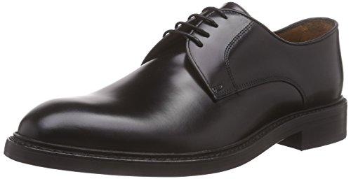 LottusseL6710-00503-01 - Zapatos Derby Hombre, color Negro, 45 EU (Talla fabricante: 10.5 UK)