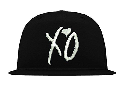 TRVPPY 5-Panel Snapback Cap Casquette modèle XO The Weeknd, différentes Couleurs, b610