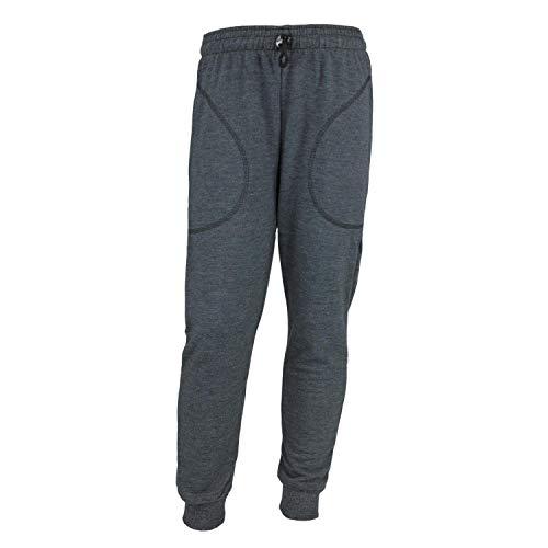 TupTam Jungen Jogginghose mit Bündchen Unifarben, Farbe: Graphit Meliert, Größe: 116
