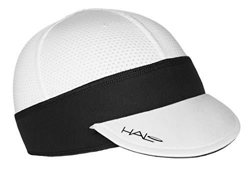 Halo Headband Sweatband Cycling Cap White