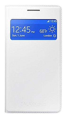 Samsung Custodia a Flip con View per Galaxy Core 2, Bianco