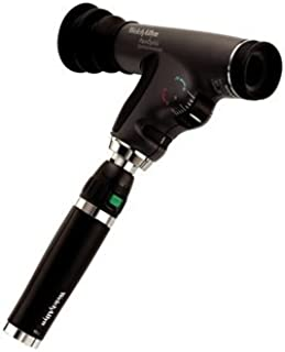 Welch Allyn 11820 Panoptic Halogen Hex Ophthalmoscope with Slit Aperture, Red-Free Filter, Cobalt-Blue Filter on Corneal Viewing Lens, 3.5V