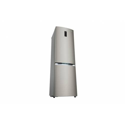 LG GBB930DNQZN Freistehend 335l A++ Grau Kühl- und Gefrierkombination - Kühl- und Gefrierkombinationen (335 l, Anti-Frost-Funktion (Kühlschrank), SN-T, 14 kg/24h, A++, Grau)