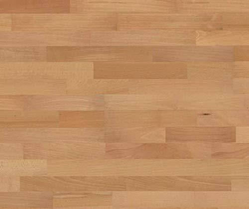 HORI® Parkett 300 Buche Basic gedämpft Schiffsboden 3-Stab versiegelt I für 20,60 €/m²