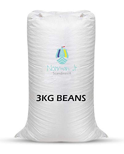 NORMAN JR, 3 Kg Bean Bag Refill/Filler - Gem