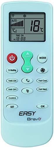 Telecomando universale per condizionatore climatizzatore Easy Bravo, compatibile con i principali marchi (Easy Bravo)