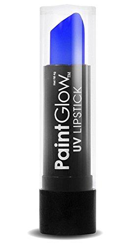 Smiffys - SM46013 - Rouge à Lèvre UV Bleu 4 g - Taille Unique