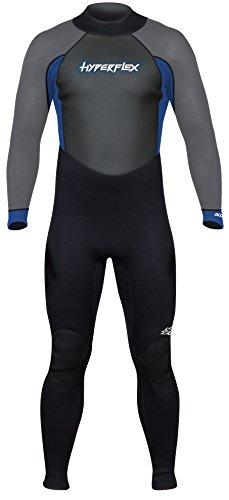 Hyperflex Wetsuits Acceso de los Hombres 3/2mm Traje Completo, Hombre, Azul