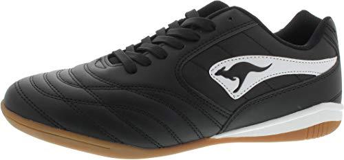 KangaROOS Herren K-Yard 3021 B Sneaker, White/Jet Black 0500, 43 EU
