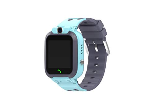 Nesee Kids Smart Watch - Intelligent Two-Way GSM Audio Alarm LBS Tracker - with SOS Alarm,Call,Voice Chat and Many Other Functions - Best Gift for Children (Blue)