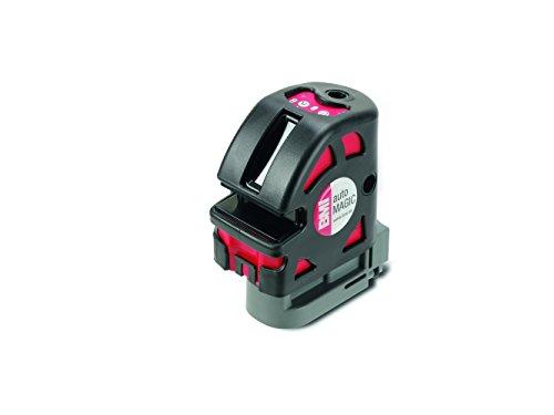 BMI 654KLP5SP kruislijnlaser / 5 straal laser autoMAGIC | + magnetische wandhouder, doelbord, batterijen, koffer | zelfnivellerend, loodfunctie | Laserklasse 2, afmetingen: 11,5 x 11 x 7,5 mm