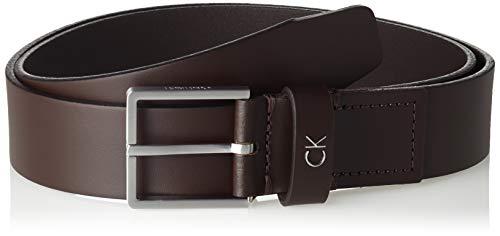 Calvin Klein Formal Belt 3.5cm Cinturón, Marrón (Turkish Coffe 201), 90 para Hombre