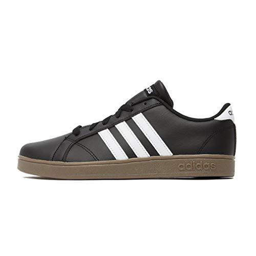 Adidas Baseline K, Zapatillas de Deporte Unisex Adulto, Negro (Negbás/Ftwbla/Gum5 000), 39 1/3 EU