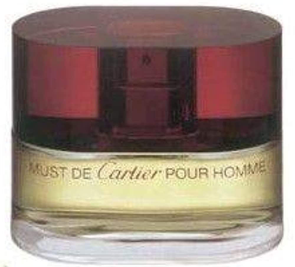 Cartier must eau de toilette vaporizzatore per uomo (100 ml) MU19M