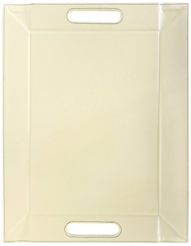 I Style My Home Free Form Plateau Multifonctions Modèle Moyen Chocolat/crème 55 x 41 cm