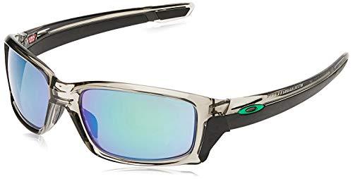 Oakley Hombre Straightlink Gafas de Sol, Gris