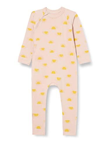Dim Pyjama Coton Bio Ensemble de Pijama, Rainbow Vanille, 24 Mois Mixte bébé