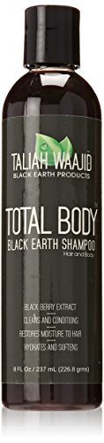 Total Body Shampoo Black Earth 237 ml Taliah Waajid