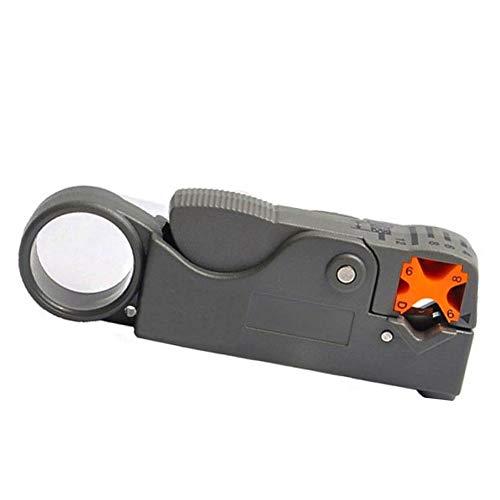 U/D Pimbuster Tragbare Koaxialkabel Stripping Abisolierzange Messer Crimper Zange Drahtschneider Cut-Linie Taschen-Multi