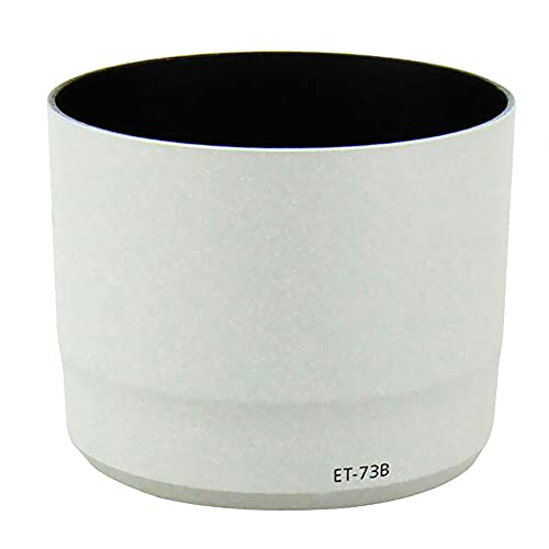 CELLONIC® Parasol ET-73B Compatible con Canon EF 70-300mm f/4-5.6L IS USM Capilla Cámara Cubierta del Objetivo Visera Parasoles