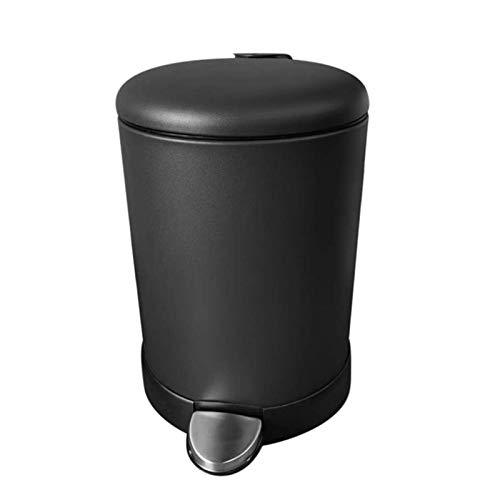 SONGMICS Cubo de Basura con Pedal de 5 litros, Cubo de Basur