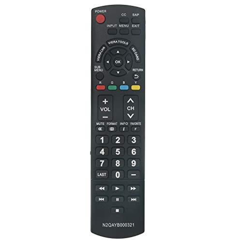 N2QAYB000321 Replace Remote Control fit for Panasonic 2009 LCD Plasma TV...