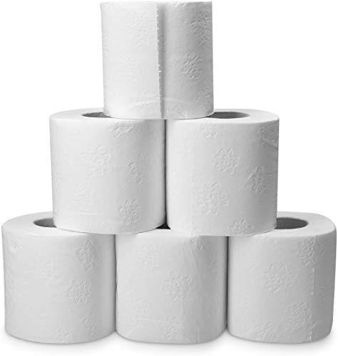 HSM Toilettenpapier 3-lagig 192 Rollen Klopapier WC-Papier Papierhandtücher Papier
