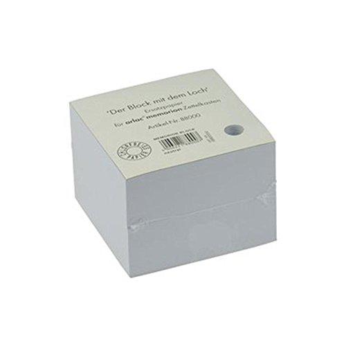 Arlac memorion Ersatzeinlagen/880.00 98x98x70 mm weiß Papier Inh.600