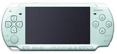 Sony Playstation Portable (PSP) 2000 Series Handheld Gaming Console System (Pearl Seafoam...