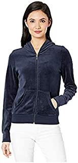 Juicy Couture Women's Scattered Juicy Velour Logo Robertson Jacket