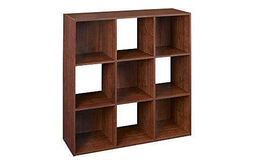 ClosetMaid 4105 Cubeicals Organizer, 9-Cube, Dark Cherry