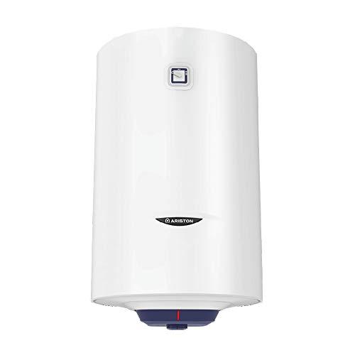 Ariston - Calentador eléctrico de pared (100 L, acumulador azul, 1 R...