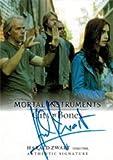 Mortal Instruments City of Bones Autograph Card AI-HZI Harald Zwart