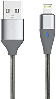 Devia 1.2 Meter Blitz LED Light USB Cable for Apple iOS 8 - Grey