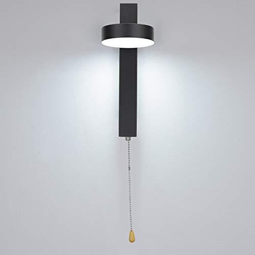 Lámpara de Pared para Dormitorio, lámpara de Pared Lámpara de Pared para mesita de Noche Mano de Obra Exquisita Material de Metal y acrílico fácil de operar para Dormitorio para Sala de