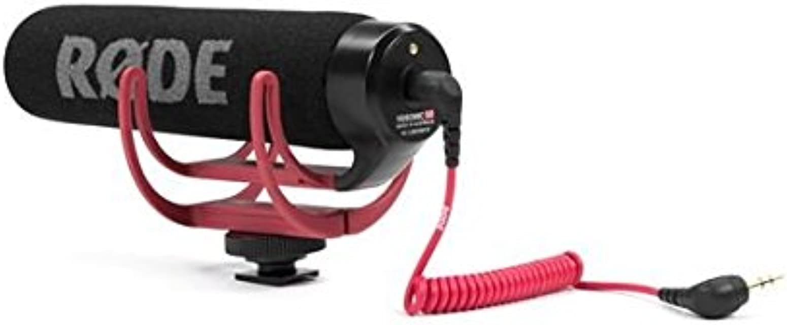 Rode VideoMic Go - Micrófono de condensador para cámara DSLR color negro