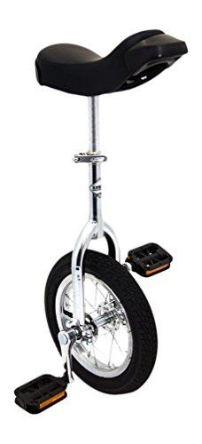 Indy viele einradbereiche Kid \'s Trainer Einrad–verchromt, 40,6cm