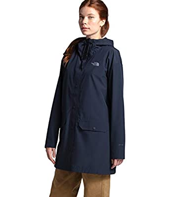 The North Face Women's Woodmont Rain Jacket, Urban Navy, S