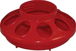 Harris Farms 1000283 1228 Plastic Baby Chick Feeder, 1 Quart, Red